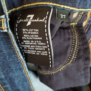7 For All Mankind Jeans - 7 for all mankind bootcut jeans